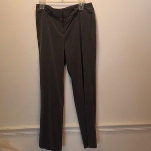 Gray Larry Levine dress pants